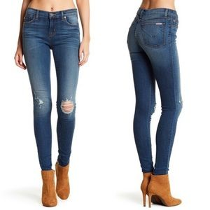 NEW Hudson Nico Mid-Rise Skinny Jeans Wannabe